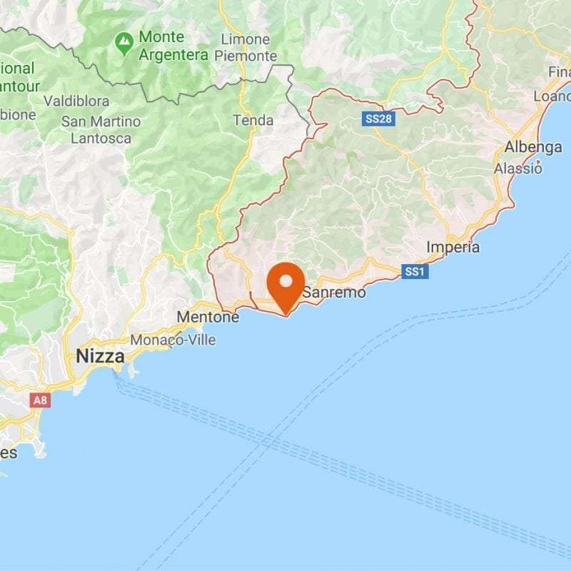 Bordighera Mappa
