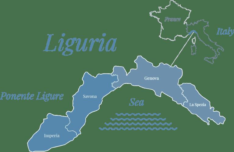Dove si trova la Liguria titolo