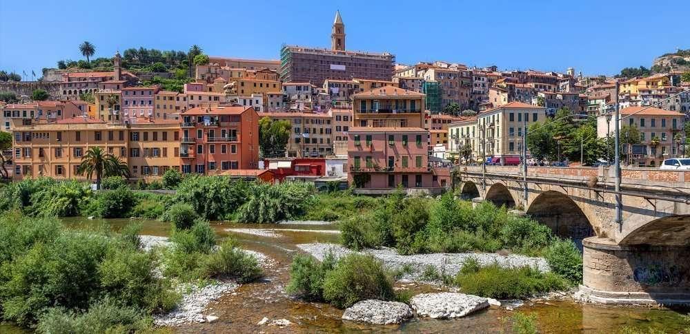Vista di Ventimiglia